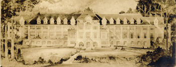 1924 drawing of proposed Assembly Inn