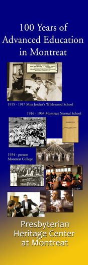 Banner for Centennial Education in Montreat