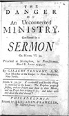 The Danger of an Unconverted Ministry