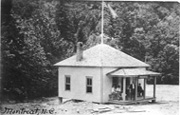 1907 Post Office building in Montreat