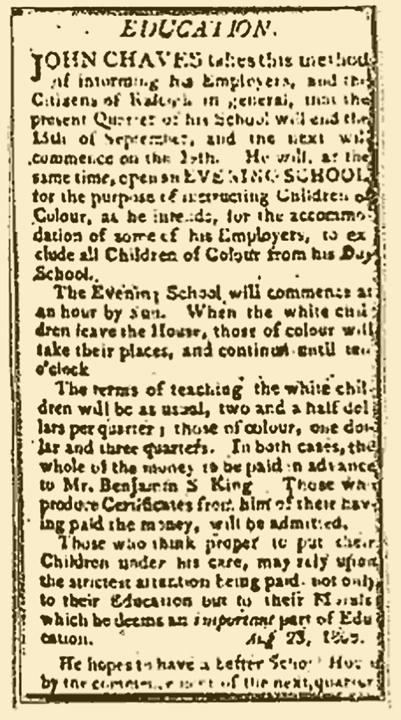 1808 Raleigh NC newspaper