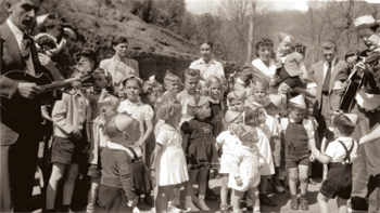 Axis country families at Montreat during WWII