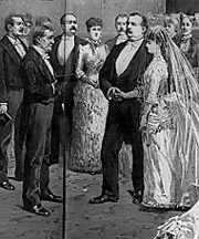 President Cleveland's WH wedding