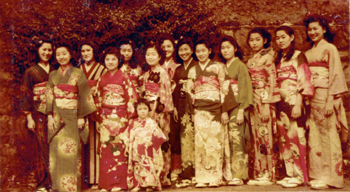 Japanese group at Montreat during WWII